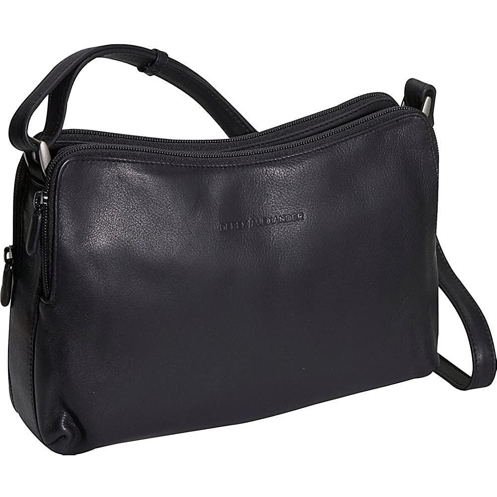Derek Alexander Leather-Derek Alexander Double zip Handbag-bags-packs.com