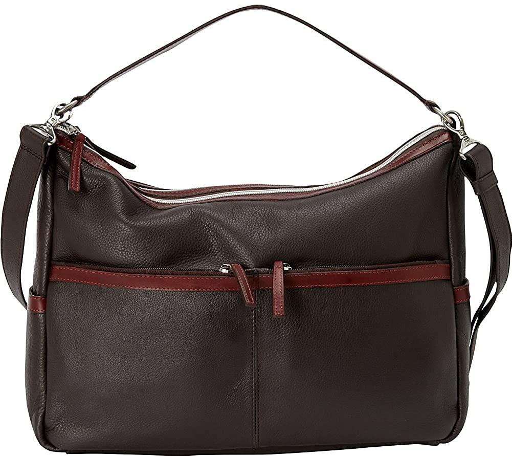 Derek Alexander Leather-Derek Alexander East West Twin Top Zip-bags-packs.com