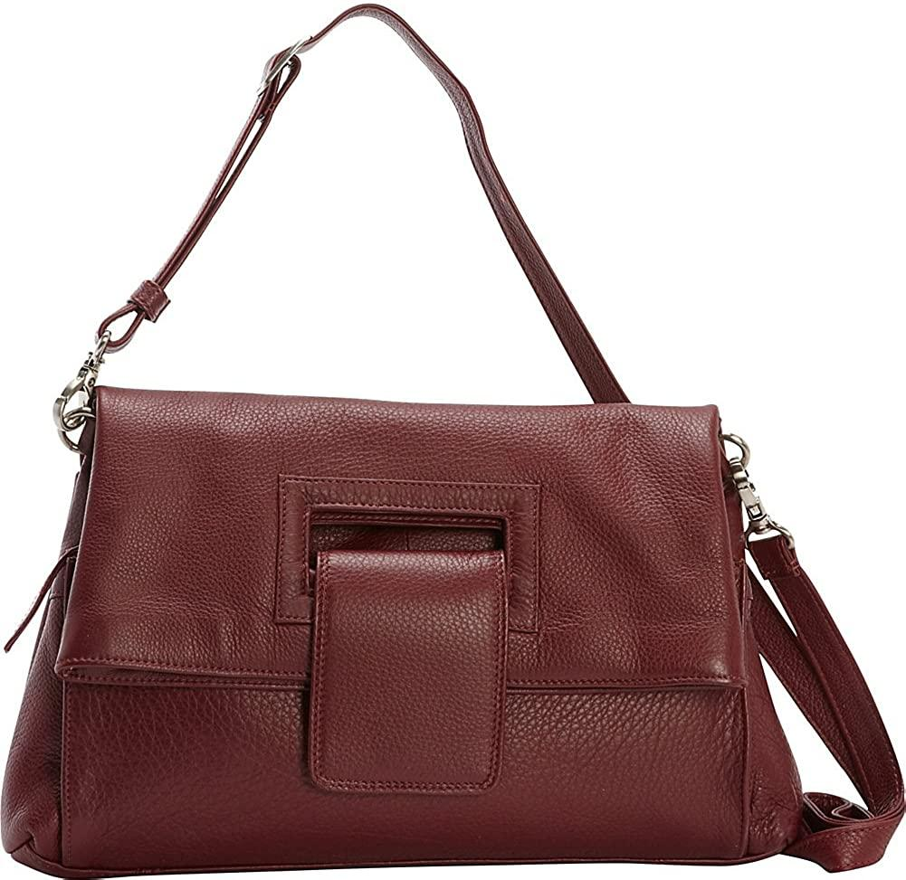 Derek Alexander Leather-Derek Alexander Envelope Flap Crossbody Handbag-bags-packs.com