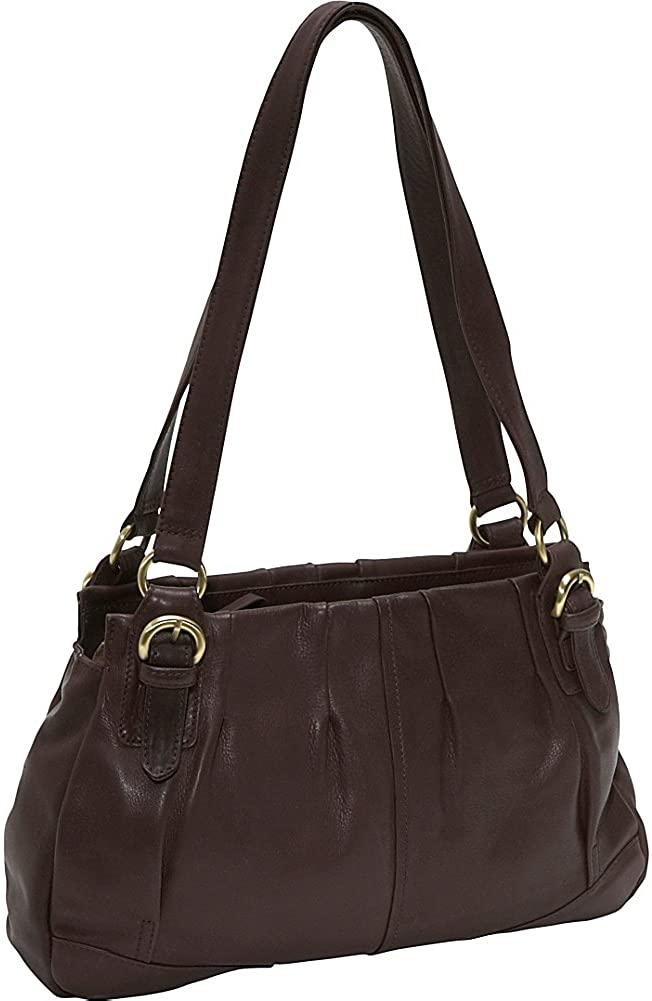 Derek Alexander Leather-Derek Alexander EW Twin Shoulder Bag-bags-packs.com