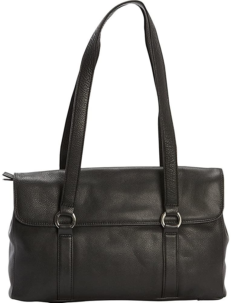 Derek Alexander Leather-Derek Alexander E/W Two Compartment Twin Shoulder Bag-bags-packs.com