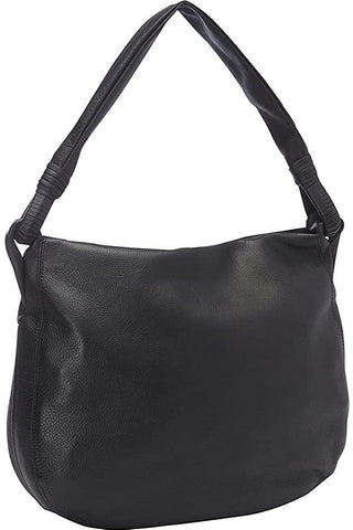 Derek Alexander Leather-Derek Alexander Inset Top Zip Hobo-bags-packs.com