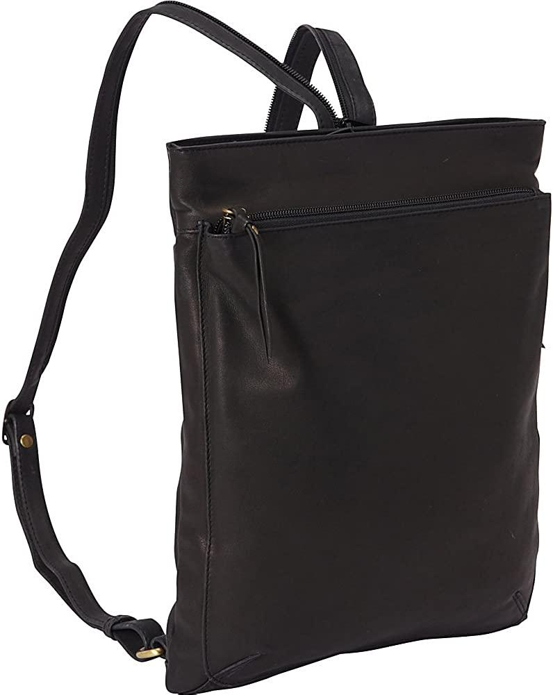 Derek Alexander Leather-Derek Alexander North South Top Zip Backpack Sling-bags-packs.com