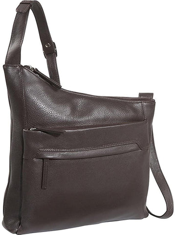 Derek Alexander Leather-Derek Alexander NS Angled Top Zip-bags-packs.com