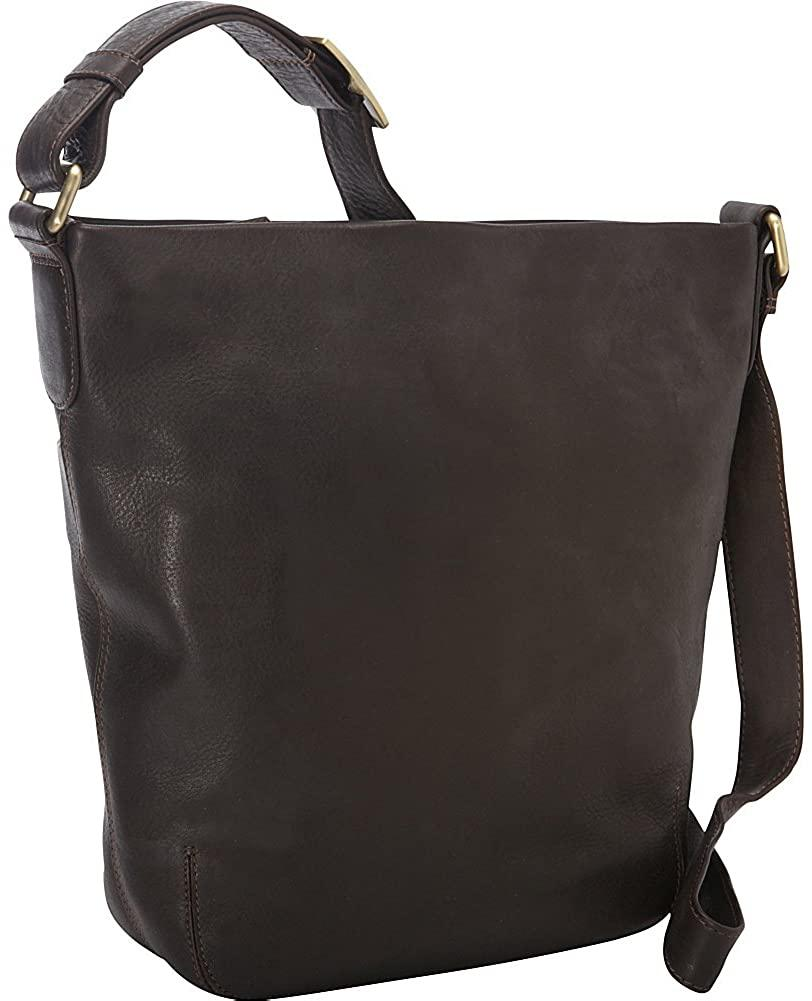 Derek Alexander Leather-Derek Alexander NS Top Shoulder Zip Bag-bags-packs.com