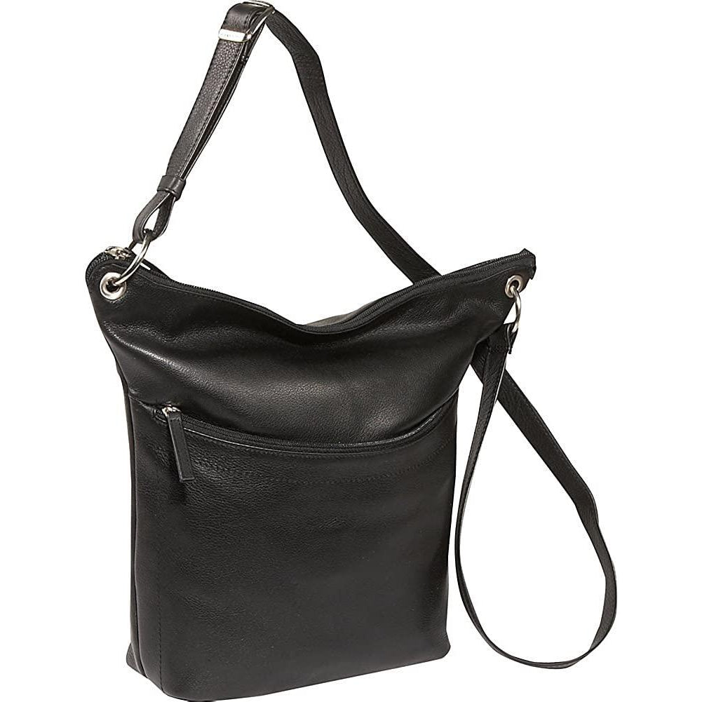 Derek Alexander Leather-Derek Alexander NS Top Zip Bucket-bags-packs.com