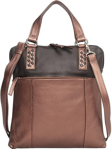 Derek Alexander Leather-Derek Alexander Slim NS Top Zip, Twin Handles Tote-bags-packs.com