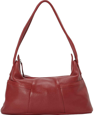 Derek Alexander Leather-Derek Alexander Small Hobo Style EW Two Top Zip-bags-packs.com