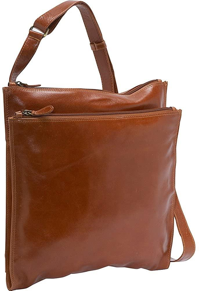 Derek Alexander Leather-Derek Alexander Square Shoulder Bag-bags-packs.com
