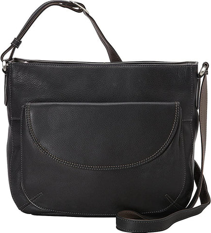 Derek Alexander Leather-Derek Alexander Top Zip Crossbody with Front Pocket-bags-packs.com