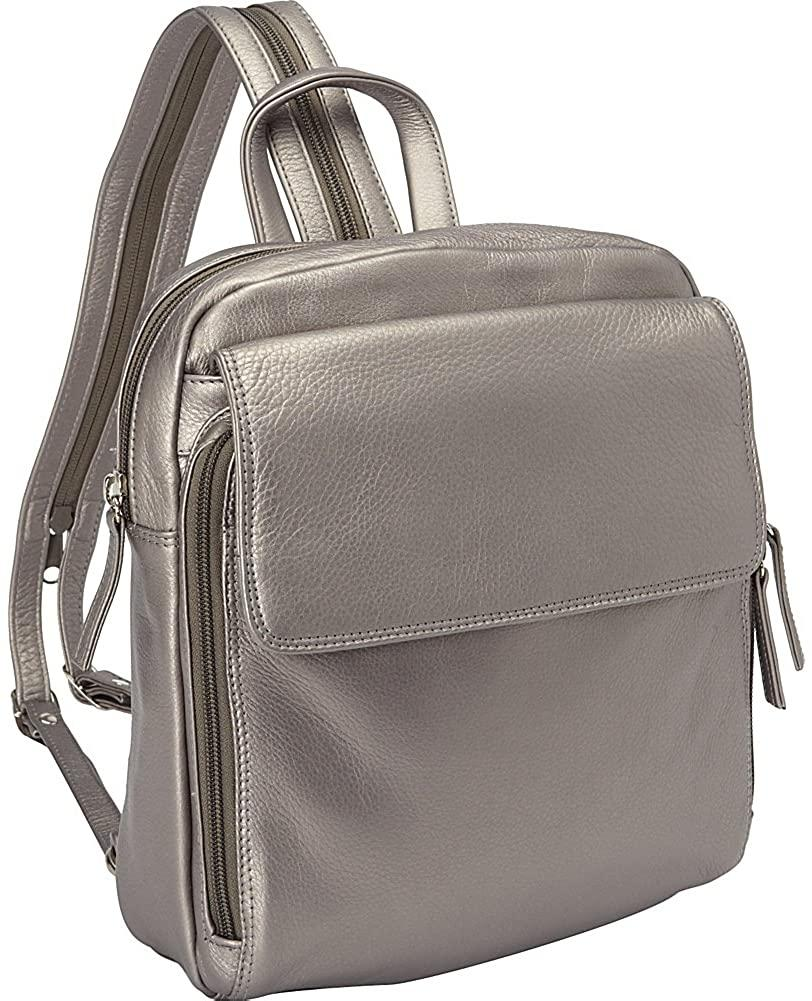 Derek Alexander Leather-Derek Alexander Top Zip Sling Backpack-bags-packs.com