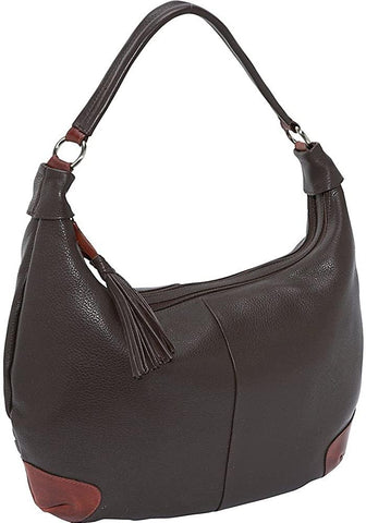 Derek Alexander Leather-Derek Alexander Two Top Zip Hobo-bags-packs.com