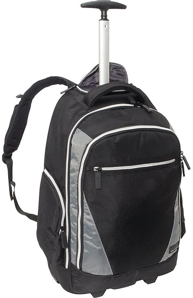 Eco Style-EcoTrend Cases Sports Voyage Rolling Backpack (EVOY-RB17)-bags-packs.com