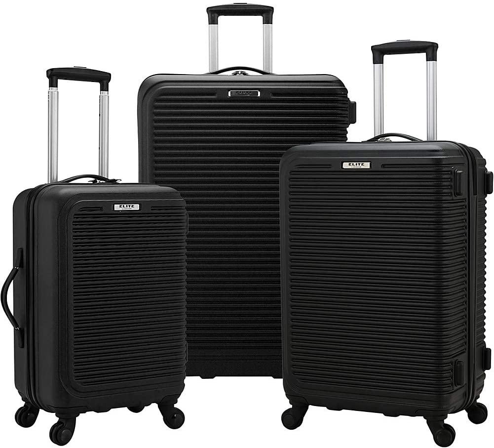 Elite Luggage-Elite Luggage Sunshine 3 Piece Hardside Spinner Luggage Set-bags-packs.com