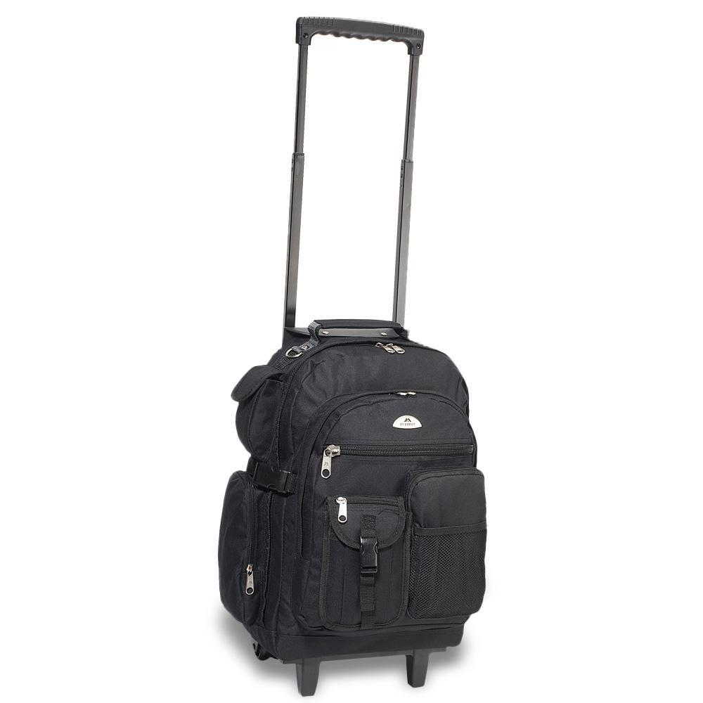 EVEREST-Everest Deluxe Wheeled Backpack-bags-packs.com