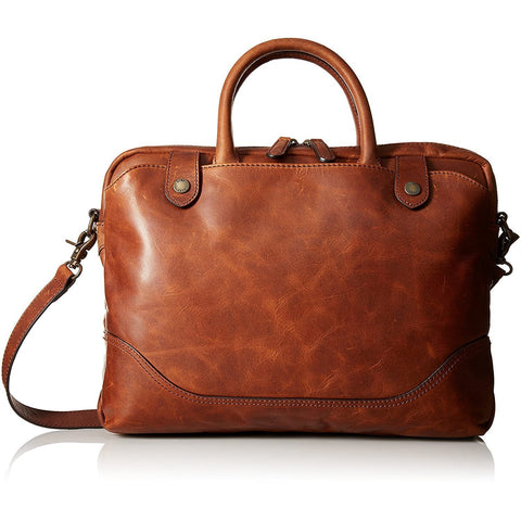 FRYE-FRYE Men's Logan Slim Zip Briefcase-bags-packs.com