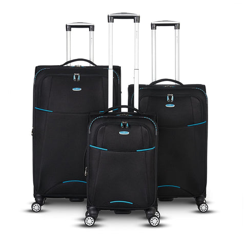 Gabbiano-Gabbiano Manchester Collection 3 Piece Expandable Spinner Set-bags-packs.com