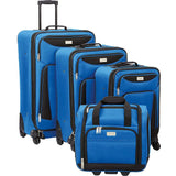 Geoffrey Beene Luggage-Geoffrey Beene Luggage Hempstead 4 Piece Spinner Luggage Set-bags-packs.com
