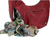 HADAKI-Hadaki City Hobo (Plum Perfect Solid)-bags-packs.com
