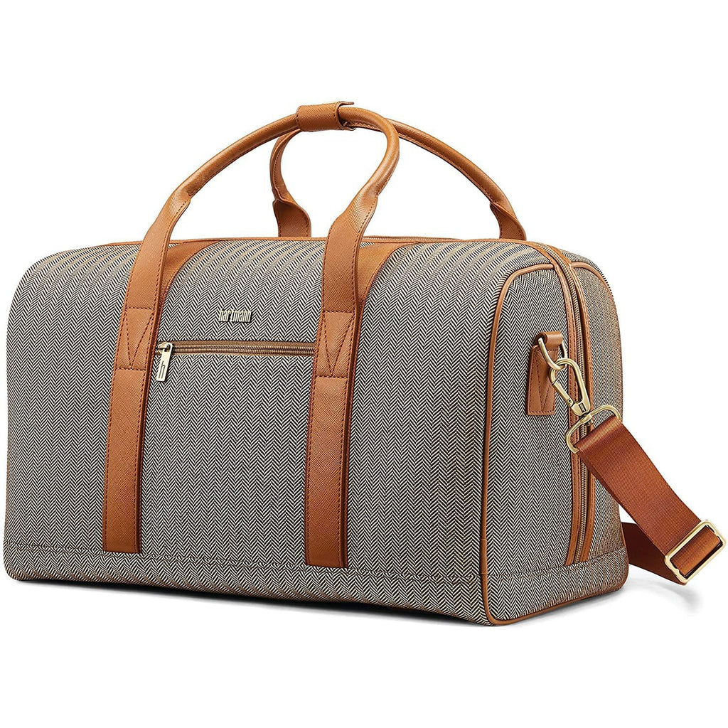 Hartmann-Hartmann Luggage Herringbone Deluxe Weekend Duffel-bags-packs.com