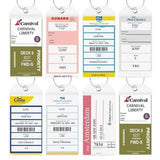 HIGHWIND-HIGHWIND Cruise Tags - Large Luggage eTag Holders, Zip Seal & Steel Loops-bags-packs.com