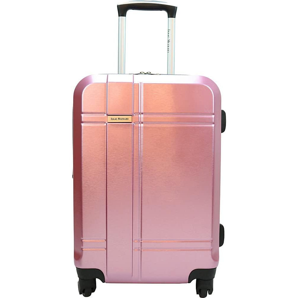 "Isaac Mizrahi-Isaac Mizrahi Conway 25"" Expandable Hardside Checked Spinner Luggage-bags-packs.com"