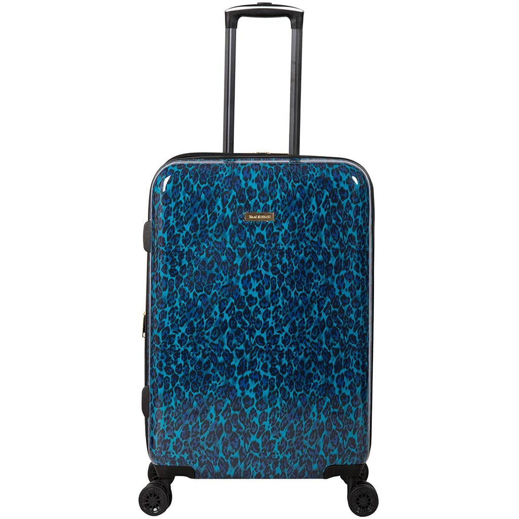 "Isaac Mizrahi-Isaac Mizrahi Unisex-Adult Gabby 29"" 8-Wheel Hardside Spinner, Blue Leopard, Luggage-bags-packs.com"