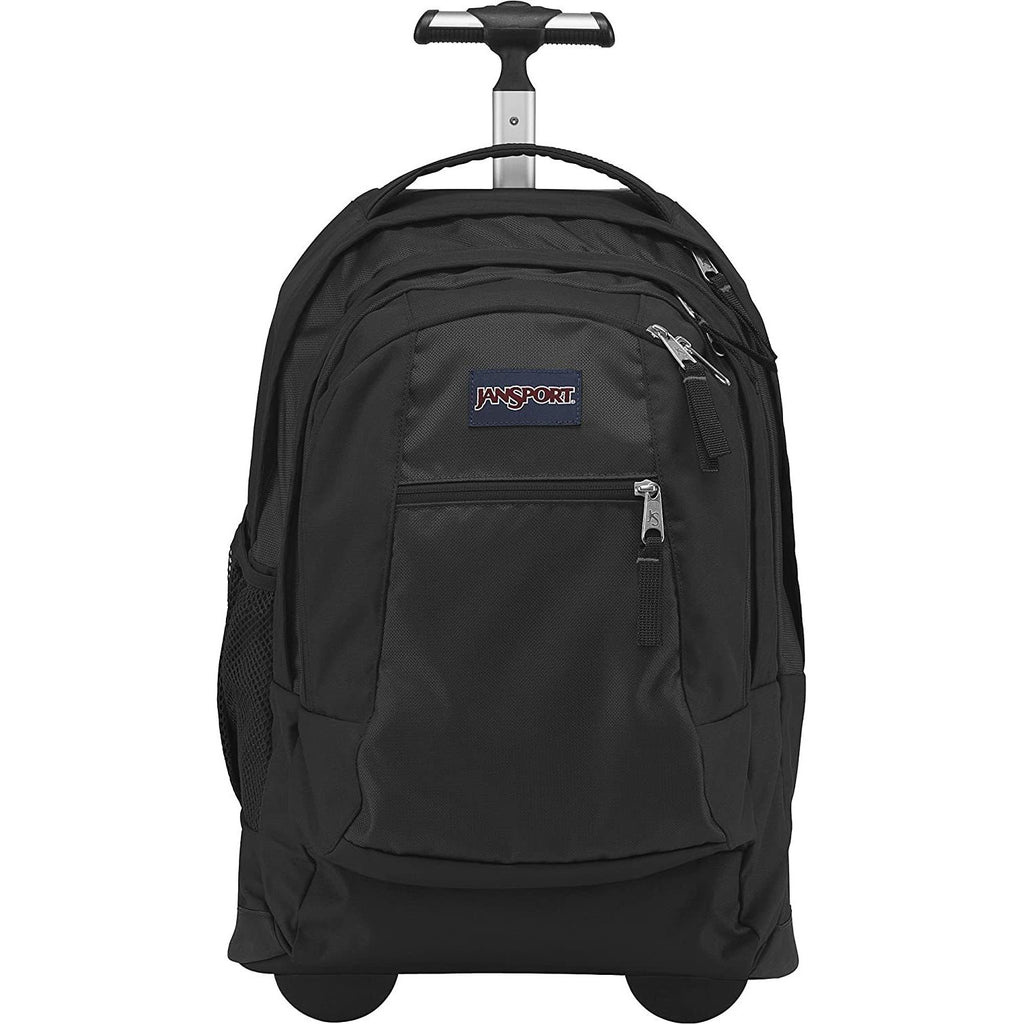 JanSport-JanSport Driver 8 Rolling Backpack with Wheels (Seafoam Green/White Dots)-bags-packs.com