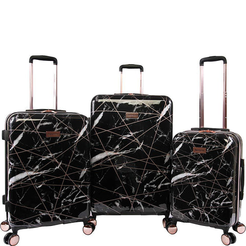 Juicy Couture-Juicy Couture Vivian 3 Piece Hardside Spinner Luggage Set-bags-packs.com