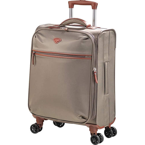 Jump-Jump Nice Expandable Carry-on Dual Spinner Suitcase-bags-packs.com