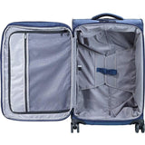 Jump-Jump Triton 26 Inch Medium Expandable Checked Spinner Luggage-bags-packs.com