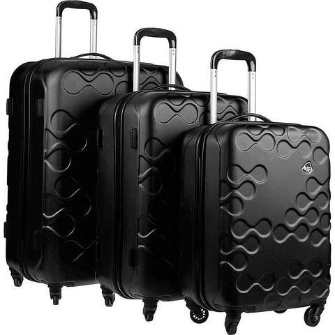 Kamiliant-Kamiliant Harrana 3 Piece Hardside Spinner Luggage Set-bags-packs.com