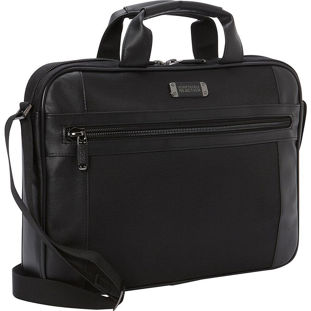 KENNETH COLE REACTION-KENNETH COLE REACTION Case Your Order Polyester Briefcase-bags-packs.com
