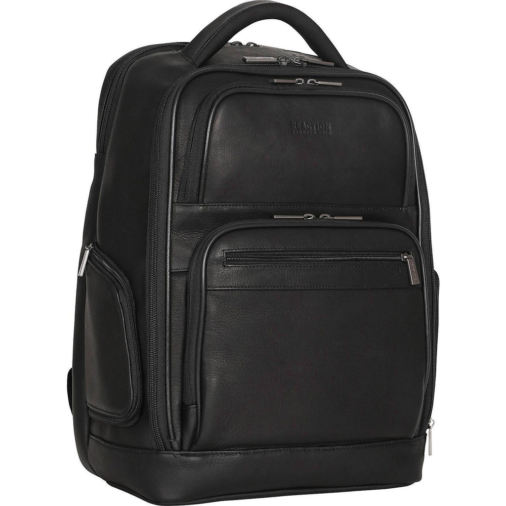 "KENNETH COLE REACTION-KENNETH COLE REACTION Ease Back Dual Compartment 15.6"" Laptop Business Backpack-bags-packs.com"