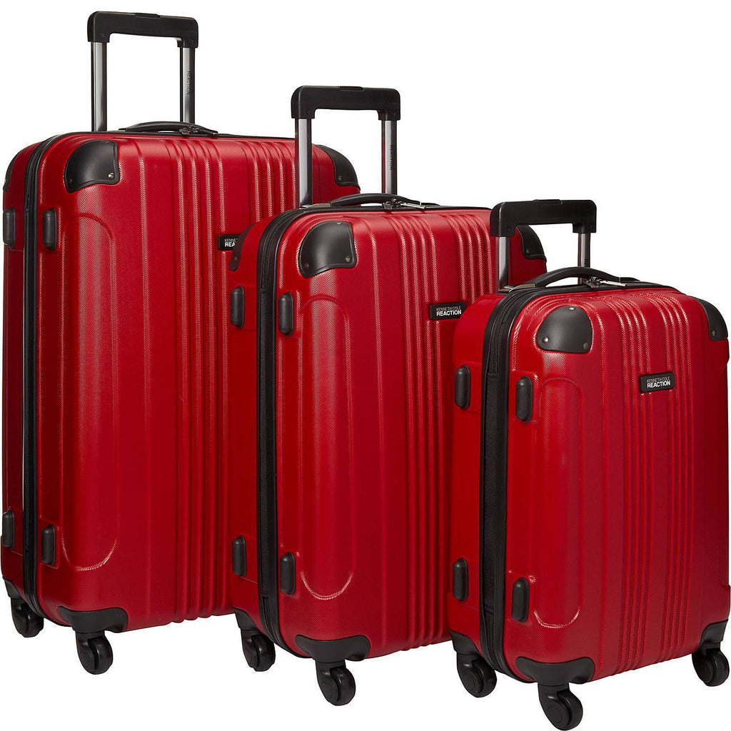 KENNETH COLE REACTION-KENNETH COLE REACTION Out of Bounds 3 Piece Hardside Spinner Luggage Set-bags-packs.com