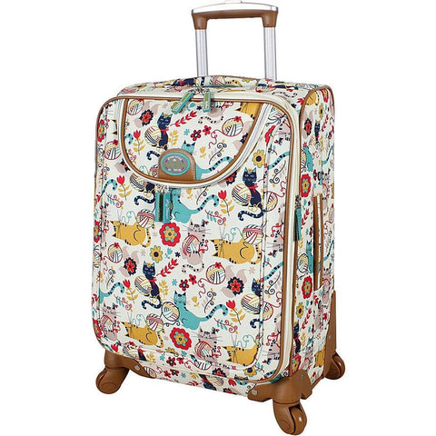 "LILY BLOOM-LILY BLOOM 24"" Exp Spinner Luggage (Furry Friends)-bags-packs.com"