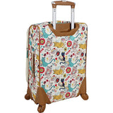 Lily Bloom-Lily Bloom Luggage Carry On Expandable Design Pattern Suitcase For Woman With Spinner Wheels-bags-packs.com