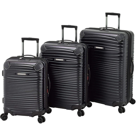 London Fog-London Fog Huntington 3 Piece Hardside Spinner Set-bags-packs.com