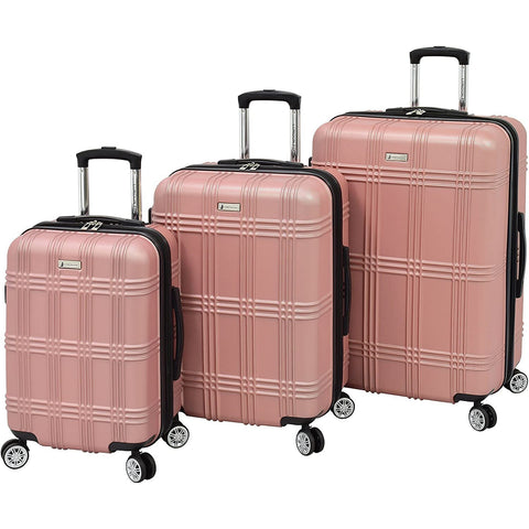 LONDON FOG-London Fog Kingsbury 3 Piece Spinner Luggage Set-bags-packs.com