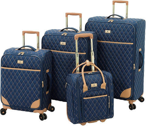 London Fog-London Fog Queensbury 4 Piece Luggage Set-bags-packs.com