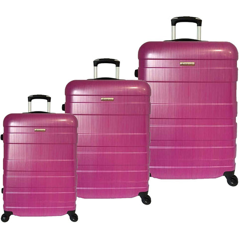 McBrine Luggage-McBrine Luggage A736 ECO 3pc Set-bags-packs.com