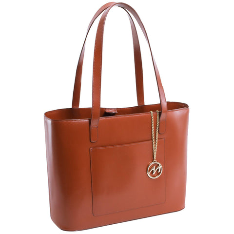 MCKLEIN USA-MCKLEIN USA ALYSON Leather Ladies' Tote with Tablet Pocket-bags-packs.com