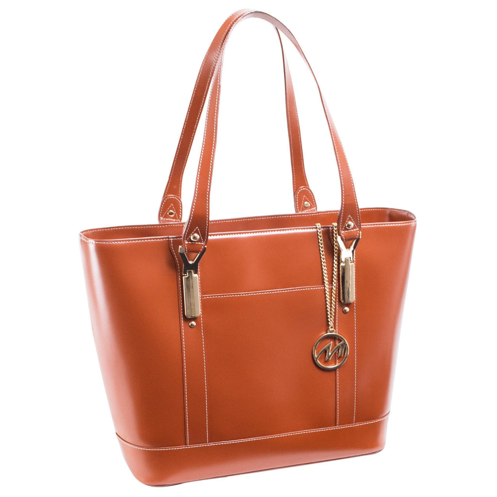 MCKLEIN USA-MCKLEIN USA ARYA Leather Ladies' Tote with Tablet Pocket-bags-packs.com