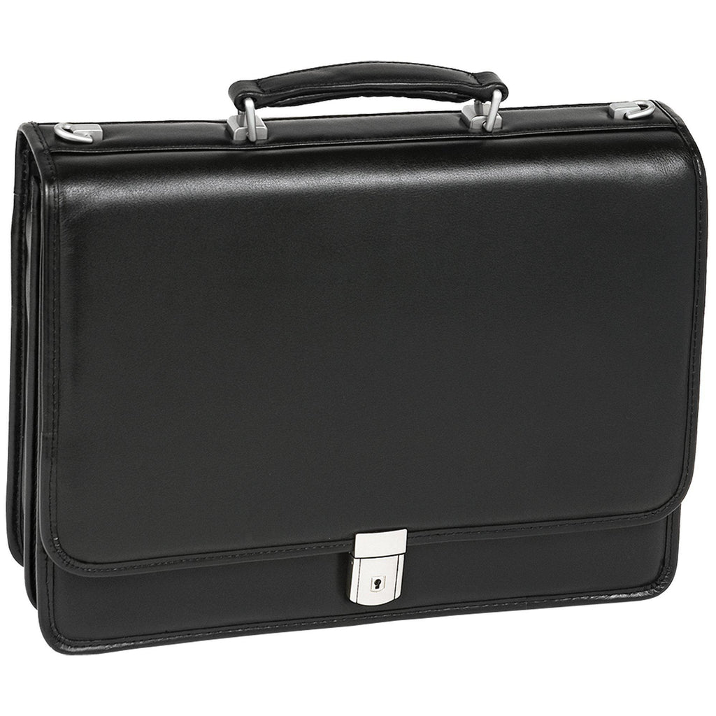 "MCKLEIN USA-MCKLEIN USA BUCKTOWN 15"" Leather Double Compartment Laptop Briefcase-bags-packs.com"