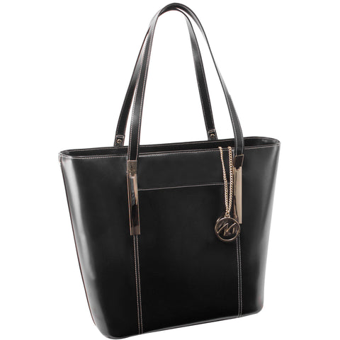 MCKLEIN USA-MCKLEIN USA DEVA Leather Ladies' Tote with Tablet Pocket-bags-packs.com