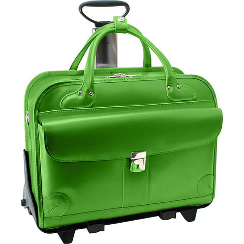 "MCKLEIN USA-MCKLEIN USA Lakewood Fly-Through 15"" Wheeled Business Case. 4 colors-bags-packs.com"