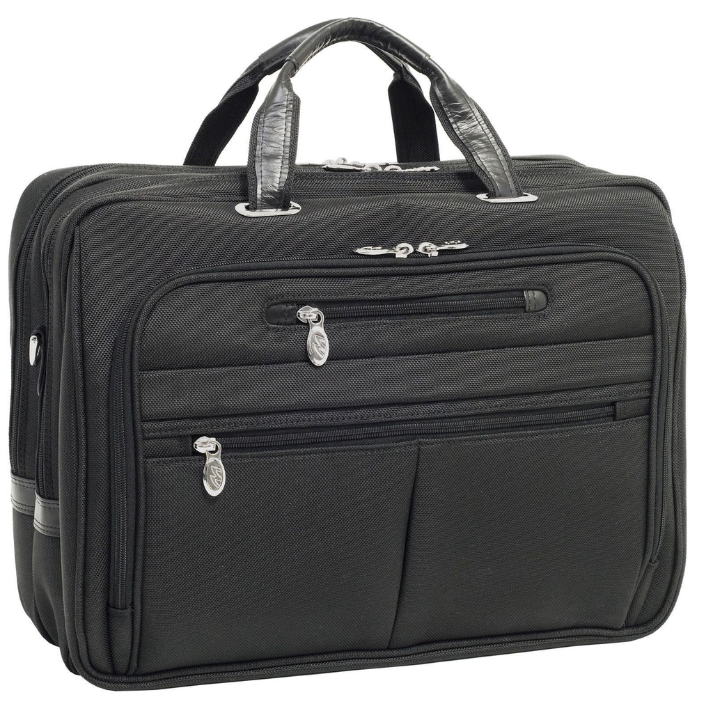 MCKLEIN USA-MCKLEIN USA R Series ROCKFORD Briefcase Black-bags-packs.com