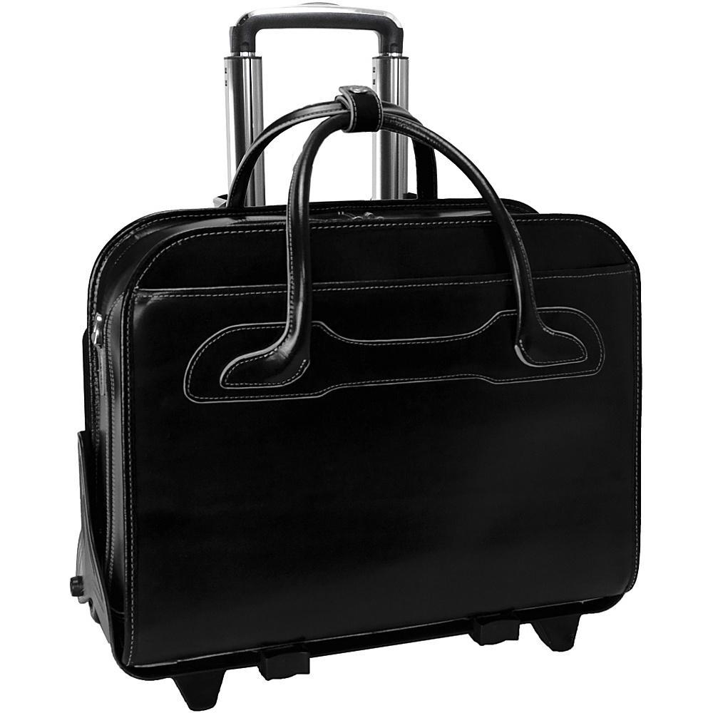 MCKLEIN USA-MCKLEIN USA W Series Willowbrook Leather Detachable Wheeled Laptop Case.-bags-packs.com