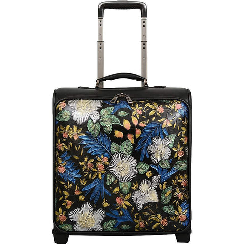 Mellow World-Mellow World Gardenia Floral 16 Inch Carry On Suitcase-bags-packs.com