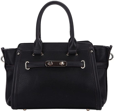 MKF Collection by Mia K. Farrow-MKF Collection by Mia K. Farrow Swagger Carryall Handbag-bags-packs.com